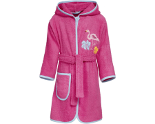UUS! Playshoes frotee hommikumantel Flamingo 340018, 18 roosa