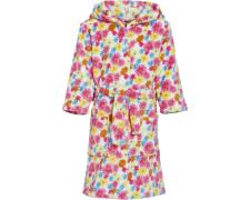 Playshoes fliisist hommikumantel Lilled 340133, 18 roosa