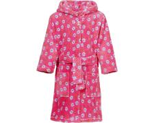 UUS! Playshoes fliisist hommikumantel Lilled 340142, 18 roosa