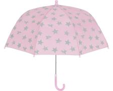 Playshoes vihmavari Tähed 448537, 14 heleroosa