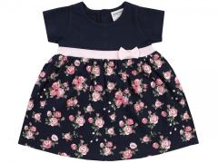 UUS! Jacky lühikeste varrukatega kleit Roosid 3911470, 3378 Navy/trükitud
