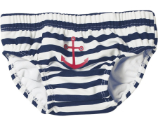 Playshoes väikelaste ujumispüksid Ankur 460110, 171 t.sin/valge