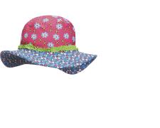 Playshoes rannamüts UV-kaitsega Lilled 460277, 18 roosa