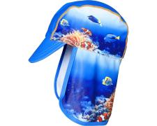 Playshoes nokamüts UV-kaitsega Veemaailm 461258, 11 tumesinine