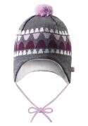 Reima beebimüts UNONEN 518378, Hall/Roosa