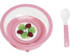 Playshoes toidunõudekomplekt 788149, 18 roosa