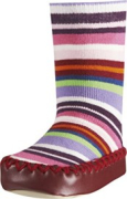 Playshoes sokk-sussid Triibud 481115, 18 roosa