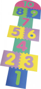 Playshoes Eva puzzle hüppemäng 14 osa 308742, 900 original