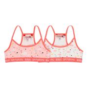 Boboli tüdrukute alustopp 2 tk pakis 929066, Valge/roosa