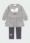 UUS! Boboli komplekt kleit+retuusid 223120, Hall