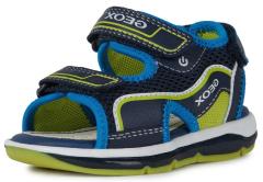 Geox`i poiste sandaalid TODO BOY B020GA, C0749 navy/lime