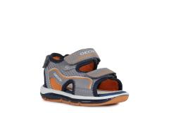 Geox`i poiste sandaalid TODO BOY, C0036 Hall/Oranž