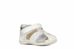 Geox sandaalid Elthan B151QC, C0007 Valge/hõbe