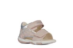 Geox´i sandaalid Nicely B1538A, C0514 roosa/hõbe