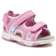 e4e9391598c Geox`i tüdrukute sandaalid SAND Mugava krõpskinnitusega tüdrukute sandaalid.  Sandaalidel kasutatud Flexy System ja GEOX Respira tehniloogiaid.