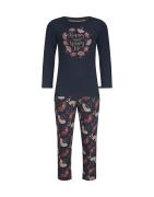 Charlie Choe tüdrukute pidžaama D37005, 17+05 Tumesinine