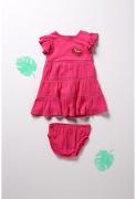 Boboli kleit 242110, 3713 hibiskusroos