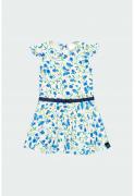 UUS! Boboli kleit 402051, 9516 sinine/trükk