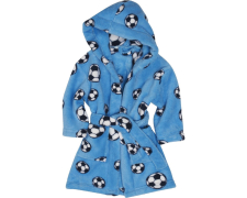 Playshoes fliisist hommikumantel Jalgpall 340151, 7 sinine