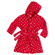 Playshoes fliisist hommikumantel Täpid 340149, 8 punane