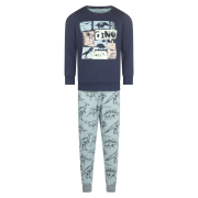 UUS! Charlie Choe poiste pidžaama Dino F41051, 68+05 indigosinine/trükk