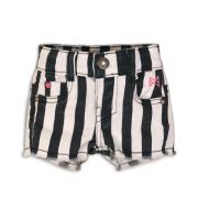 Koko Noko tüdrukute lühikesed teksapüksid 37C-34917, Valge/must