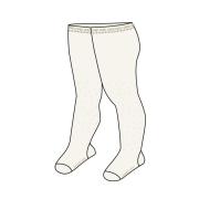 Boboli tüdrukute sukkpüksid 701064, 1111 valkjas