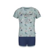 Charlie Choe lühike pidžaama 41C-35001, 46+05+24 mündiroheline+sinine
