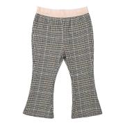 UUS! Koko Noko ruudulised alt laienevad püksid F40923, 97 hall