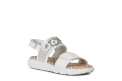 Geox´i sandaalid Deaphne J15DUI, C1000 Valge
