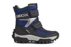 UUS! Geox talvesaapad J Himalaya J163AB, C0749 navy/lime