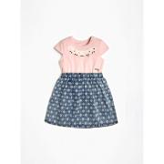 Guess Kids tüdrukute kleit K02K03K6YW0, Roosa/Sinine