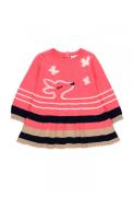 UUS! Boboli puuvillane kleit 233053, 9672 Roosa/trükk