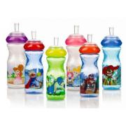 Nuby sportpudel pildiga mittetilkuva pehme joogitilaga 300 ml ID1230, Värvilised
