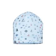 Barbaras beebipoisi müts TU51/0, Helesinine