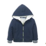 Dirkje poiste karvastatud voodriga jakk D36527-17, 17 Tumesinine
